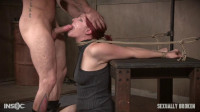 Kel Bowie is the girl next door bound, made to squirt, cum, scream, while getting fucked, throated!