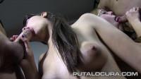 Excellent pupil schoolgirl fighting for sperm
