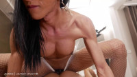 XL Bareback Top Creampie — TS Jasmine — Full HD 1080p