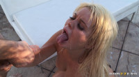 Sexy Blonde Hottie Is Oiled-Up and Ready To Go (new, vid, gorgeous, gonzo)