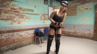 Adara Arrested In Leather