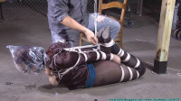 Riley is Captured Belt Whipped and Hogtied