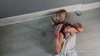 Lucy Lauren - Tape Gage Vibrator Orgasm