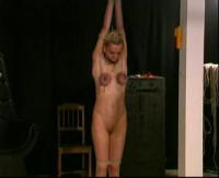 Erotic and extreme bondage movies featuring BDSM slave girls in hot metal bondage