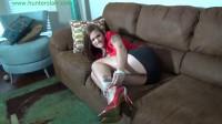 Hunterslair - Ayla Aysel - Pretty secretary bound for Poindexter,s laboratory