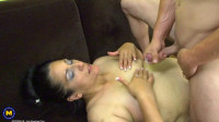 Horny big ass milf having sex with a toyboy