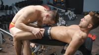 Calan & Hugh's Gym Fuck