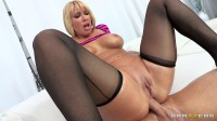 Blonde Milf With A Juicy Ass And Beautiful Big Tits - blond, cum, big cock, teasing
