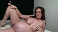 Pregnant bondage amateur