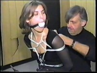 But when she breaks into house looking for information, she is grabbed, cruelly tied and gagged and c