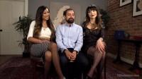 Danielle Foxx , DJ and Venus Lux - Spit Balling TS Cum For Couples!