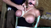 KatieThornton with Lisa Scott — Perverted Couple Bind and Objectify the Busty Blonde — Part 1