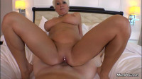 short haired milf have fun with cock
