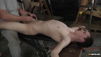 Vibrating The Cum From His Cock
