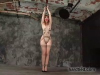 Drop  gorgeous, Kendra James has worked as a bondage bottom
