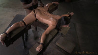 Flexible Wenona Bound In The Splits And Used