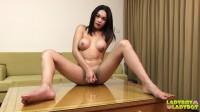 A Beautiful Gogo Tgirl Dreeam solo jerking hot orgasm scene.