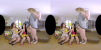 Lady Dee, Redvex & Nikki Montero 3D VR Porn - Lady Dee\\\'s Hangout
