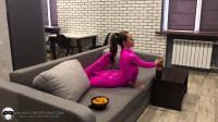 Ulyana - Training at home