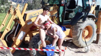 Sexy Young Builders Bareback