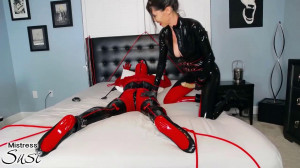 Rubber Doll Strapless Strapon Webcam Show [Eng]