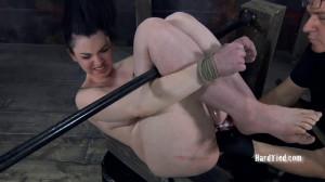 Super bondage, torture, and strappado for naked hot bitch [2019][Eng]