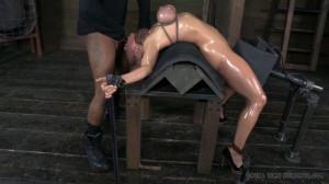 Destruction of Darling continues! [BDSM,Rope Bondage,Spanking][Eng]