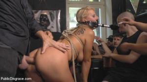 Horny Blonde Anal Slut Disgraced for Berlin Tourists [Kink: Public Disgrace,Mona Wales][Eng]