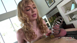 Chastity Law - Mackenzie Moss [2019,Mackenzie Moss,Femdom,Vibrator,Masturbation][Eng]