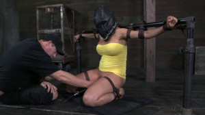 Hard bondage, torture and domination for very sexy model [2020][Eng]