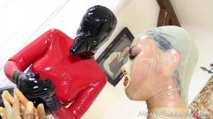 Mask Dressing, Sniff Dildo Rubber Fuck Part One [Eng]
