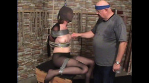Tape and Rope For Tricia [2017,Bondage,Humiliation][Eng]