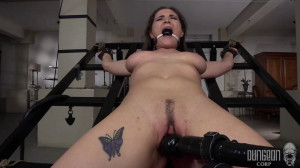 Dungeon Corp - Molly Mae - Hard core Beauty on Bottom part 4 [2017,Dungeon Corp,Molly Mae,BDSM,Bondage][Eng]