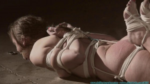 A Long Day of Hard Bondage for Rachel Movie 4 - Frogtied and Spanked Part 3 [Eng]