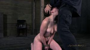 Jennifer White Helplessly bound, deep throated [2018,SB,Cool Girl,BDSM][Eng]