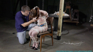 Gianna Loves Test - Pt 2 [2019,cleave gag, Crying, crotchrope][Eng]