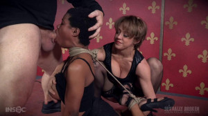 Fucking in Intense Rope Bondage With Serious Orgasms! [2016,Kahlista Stonem - Dee Williams - Matt Williams,Ebony,Domination,BDSM][Eng]