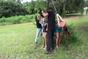 Amanda and Fayth Gets Taken: Part 1 [2019,BDSM,Rope,torture][Eng]
