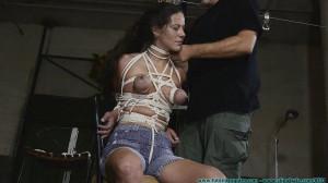 HD Bdsm Sex Videos Crossed Elbows Hogtie For Summer pt 2 [2020,FutileStruggles,Bondage ,Rope Bondage ,All Natural ][Eng]