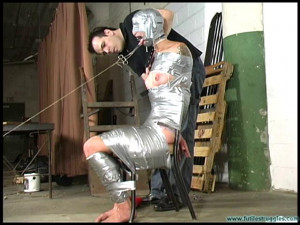 Illustrious Rouge Spanked, Taped, Tongue Clamped [2019,BDSM,torture,Rope][Eng]