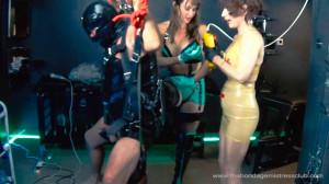 Mistress Miranda in Spin On My Big Strapon Finale [2019,Foot Fetish,Femdom ,Foot Domination][Eng]