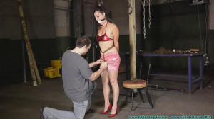 HD Bdsm Sex Videos Summer Hogtied Tight! Part 1 [2020,FutileStruggles,All Natural ,Rope Bondage ,Long Hair ][Eng]
