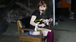 Bondage in The Chair [2017,Bdsm,Bondage][Eng]