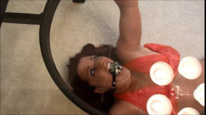 Glass Table Orgasm and Struggle [2019,Rope,torture,BDSM][Eng]