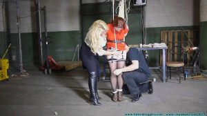 The Security Guards Hogtied and Gagged me (next) [Chrissy Daniels][Eng]