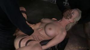 Busty Blonde Cherry Torn Bound [Sexuallybroken][Eng]