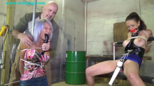 Cock tease duo bound and tormented [2021,BDSM,Rope,Bondage][Eng]