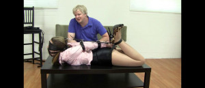 Constance- Leather Strap Hogtie for the Board Executives [2021,BDSM,Bondage,Rope][Eng]