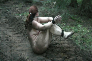 Nude, Tied and Very Muddy [2019,Rope,Bondage,BDSM][Eng]