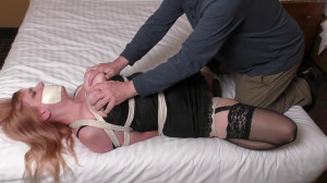 Bondage Business Weekend Parts 2 and 3 Lorelei StuffGagged Groped Vibed [Eng]